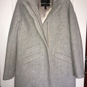 J Crew Stadium Cloth Cocoon Coat size 6